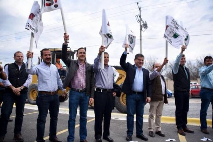 Coordinación con el Gobernador Miguel Riquelme trae grandes obras para Saltillo