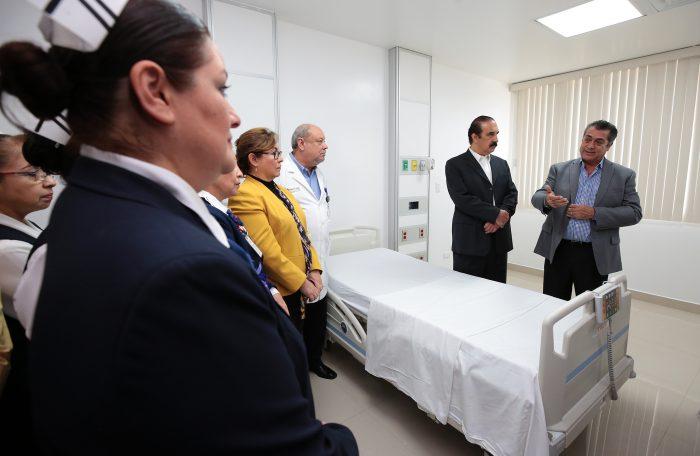 Anuncia Gobernador de  Nuevo León  inversión adicional de 222 millones de pesos para el Hospital Metropolitano