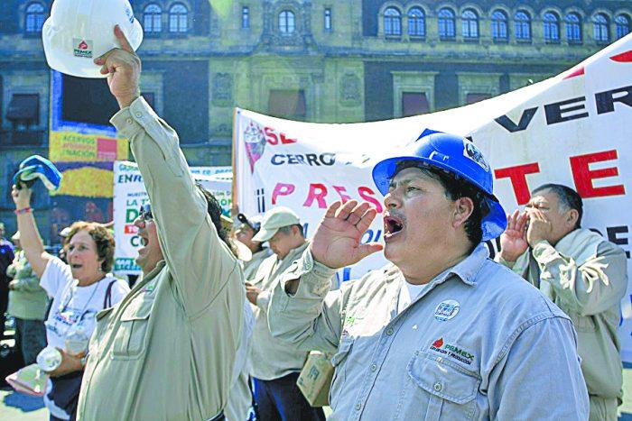 Gana litigio disidencia de sindicato de Romero Deschamps