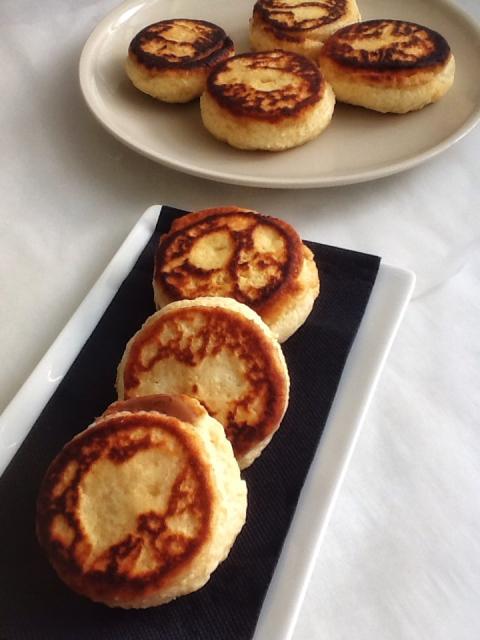 Pastelitos de Nutella a la plancha.