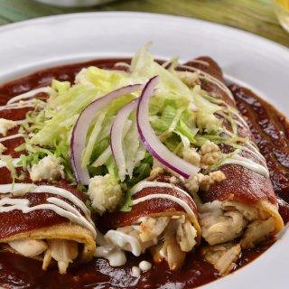 Deliciosas Enchiladas.
