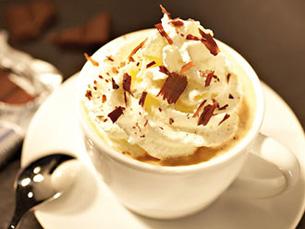 Café melange.