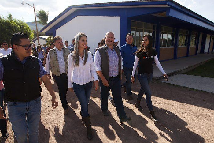 ANUNCIA GOBERNADOR ACCIONES EN MUNICIPIOS DE LA REGIÓN COSTA-SIERRA OCCIDENTAL