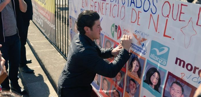 Apoya Samuel protesta contra tarifazo; urge crear Ley de Movilidad