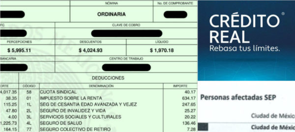 Detectan empresa detrás de cobros a maestros por créditos de nómina apócrifos: Poder