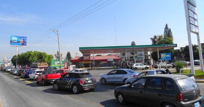 Desabasto de gasolina en Guadalajara y Monterrey