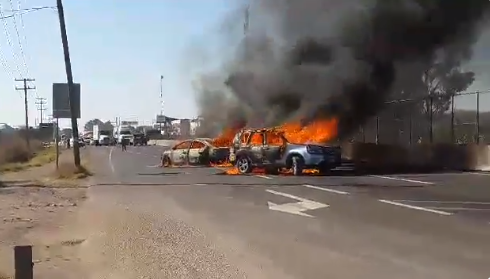 """Responsabilizaron al cártel de Santa Rosa de Lima por los """"huachibloqueos"""" del martes en Guanajuato"""