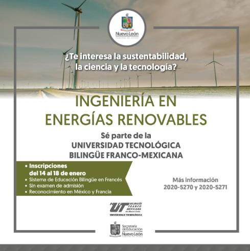 Inician inscripciones Universidad Bilingüe Franco Mexicana en NL.