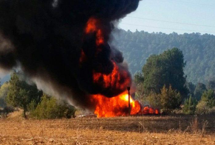 Explota ducto de combustible en Tlahuelilpan