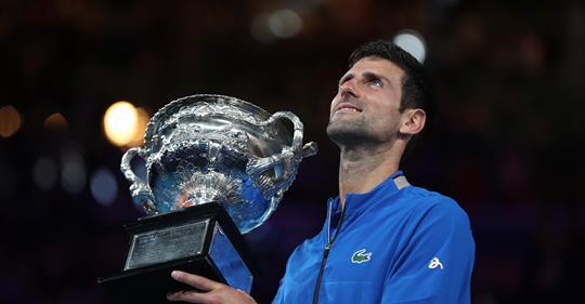 ¡His7órico! Djokovic dio cátedra ante Nadal y se coronó campeón en Australia