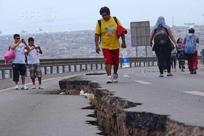 Sismo magnitud 6.7 sacude Chile
