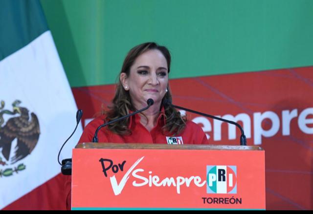 En Coahuila hay corazón priista.- Claudia Ruiz