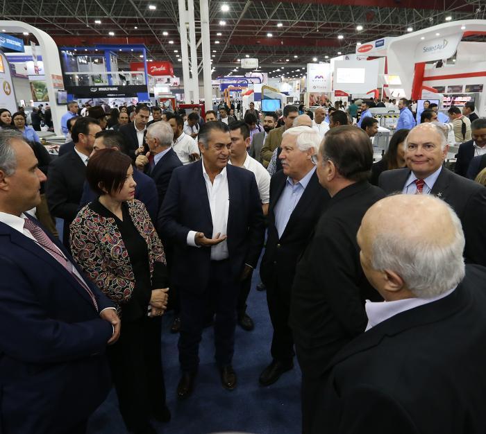 """Inaugura Gobernador de N.L """"Expo Carnes y Lácteos 2019"""""""