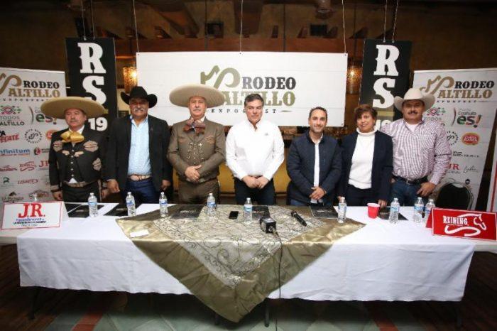 Festival de Rodeo Saltillo 2019 contará con Expo Ganadera