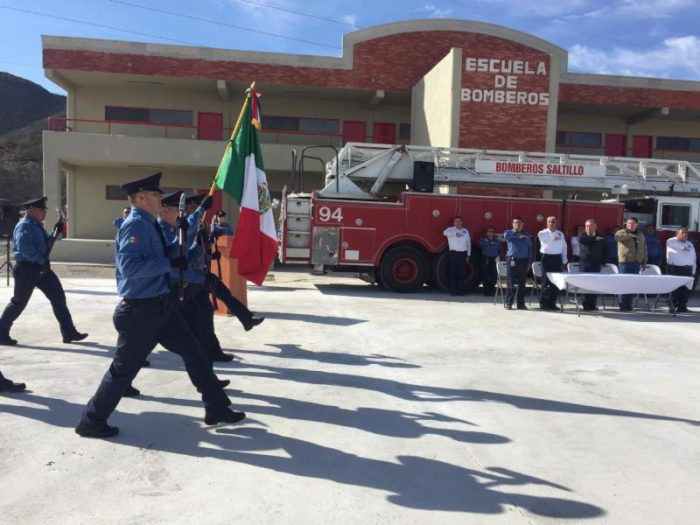 Inicia curso de formación de bomberos