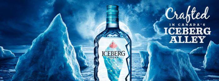 Roban 30 mil litros de agua de iceberg en Canadá para fabricar vodka
