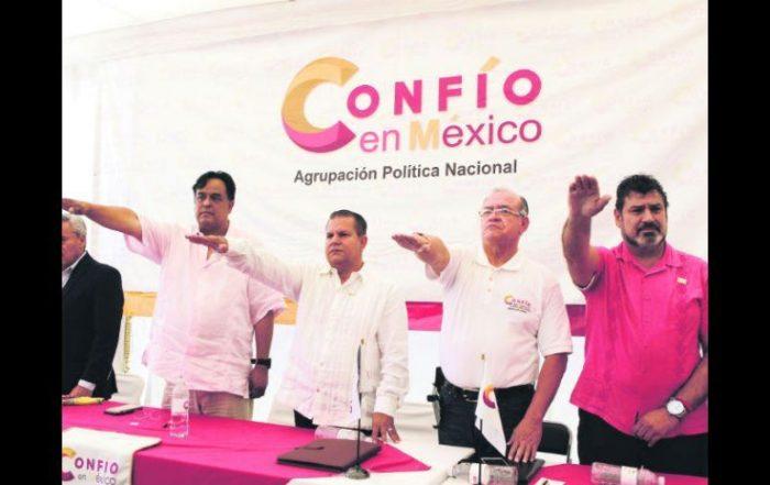 Confío en México formaliza trámite para convertirse en partido