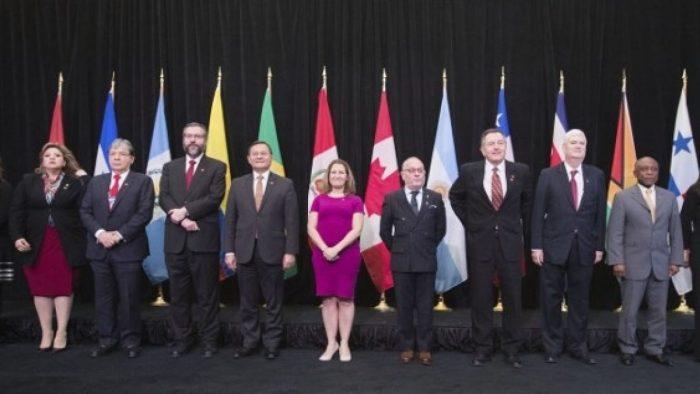 Grupo de Lima acepta a Venezuela como integrante, a solicitud de Juan Guaidó