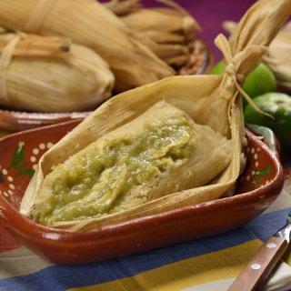 Tamales caseros.