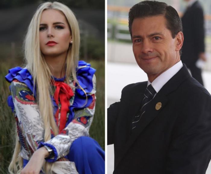Enrique Peña Nieto es captado con una modelo en Madrid