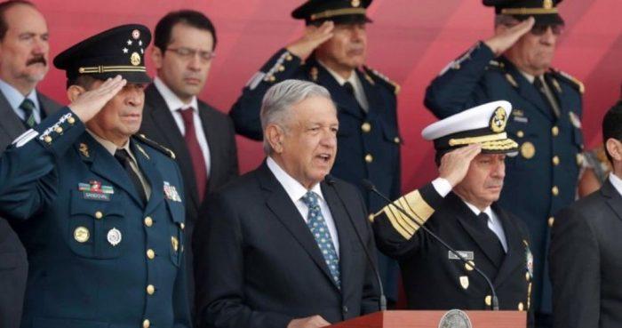 Terminar de entregar México a los militares
