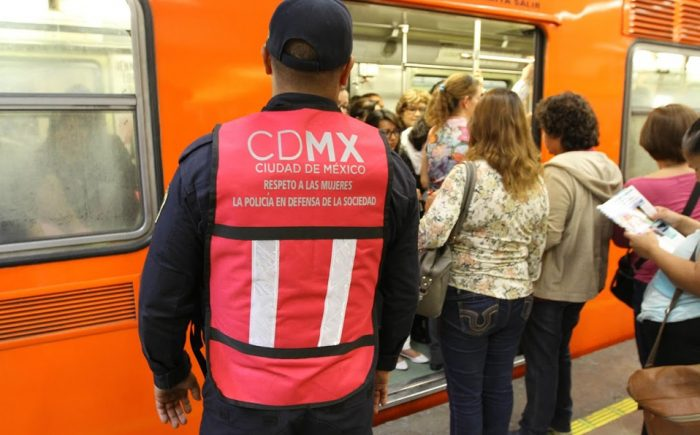 Aumenta a mil el número de policías para vigilar transporte público en CDMX