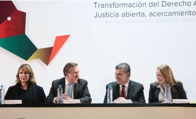 COAHUILA, SEDE DE CONGRESO NACIONAL 'TRANSFORMACIÓN DEL DERECHO ADMINISTRATIVO'