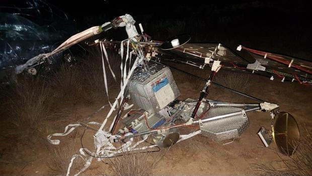 Cae satélite cerca de un rancho en BCS