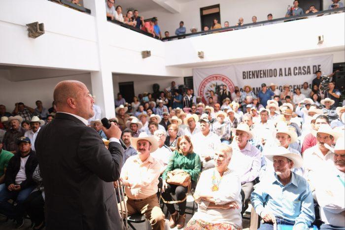 EL CAMPO DE JALISCO SE DEFENDERÁ CON JUSTICIA SOCIAL: GOBERNADOR