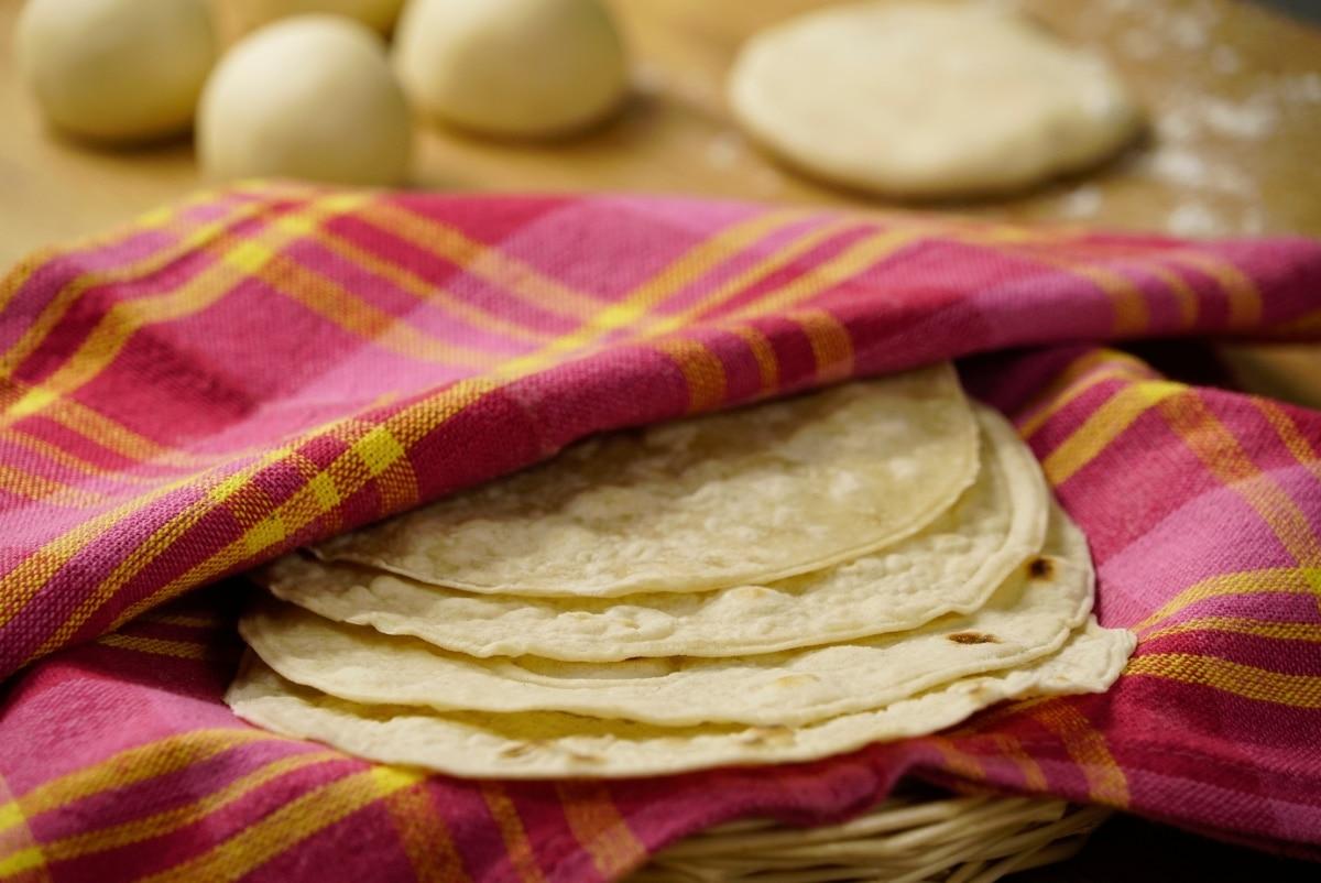 Tortillas de Harina Caseras.