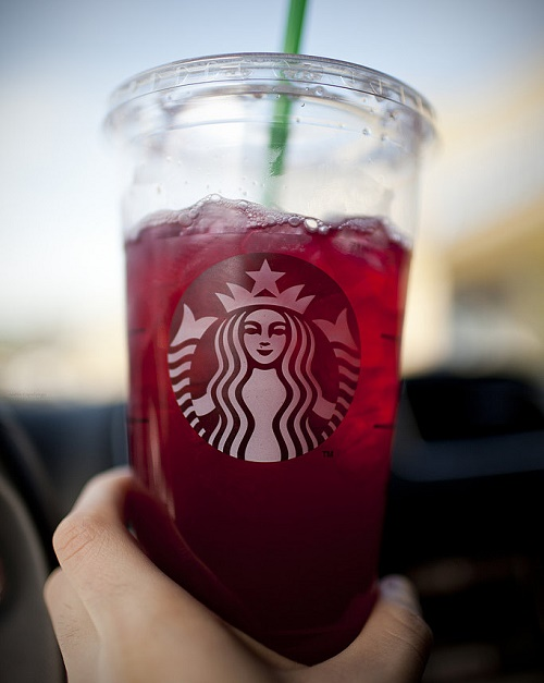 Bebidas enconomicas de Starbucks.