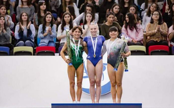 Alexa Moreno volverá a competir por medalla