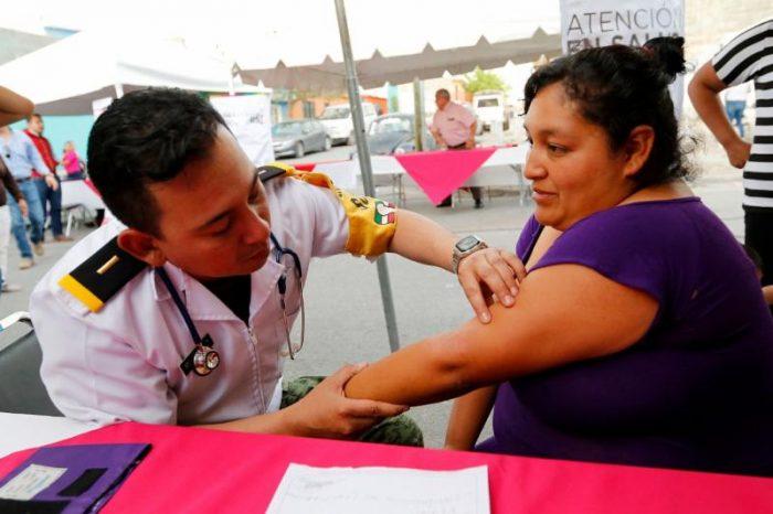Brinda Salud Municipal atención médica a ciudadanos
