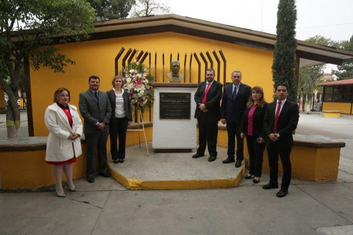 ANIVERSARIO DEL NATALICIO DE BENITO JUAREZ Y ENTREGA DE PROGRAMA ESCUELAS AL 50