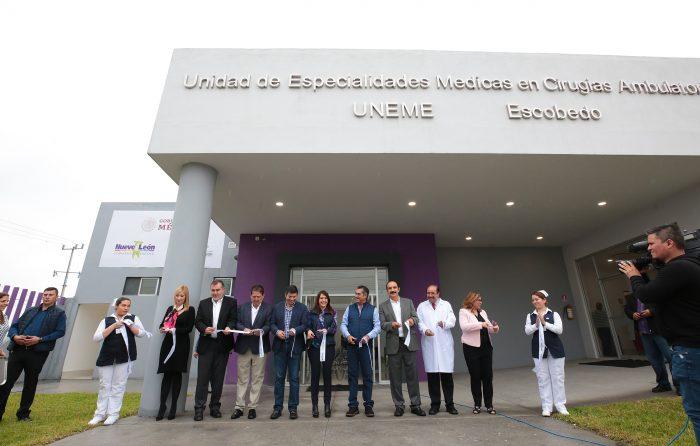 Inaugura Gobierno Ciudadano de N.L  Unidad médica en La Alianza