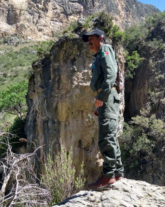 Patrullan Policía Ambiental y brigadistas forestales sierra de Zapalinamé