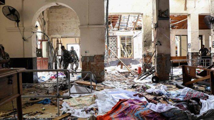 Al menos dos centenares de muertos en una serie de atentados en Sri Lanka