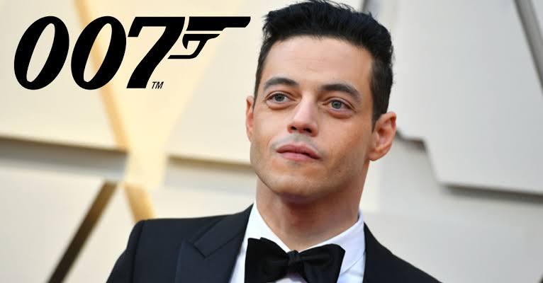 Rami Malek como el nuevo Villano de Bond.