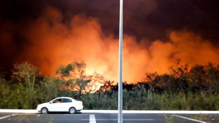 Incendio en Los Petenes