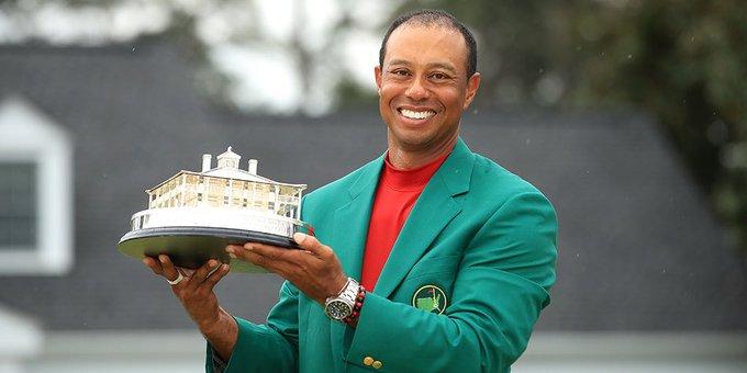Tiger Woods gana el Masters de Augusta 14 años después