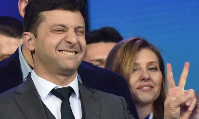 Ucrania: el humor llegó a la presidencia