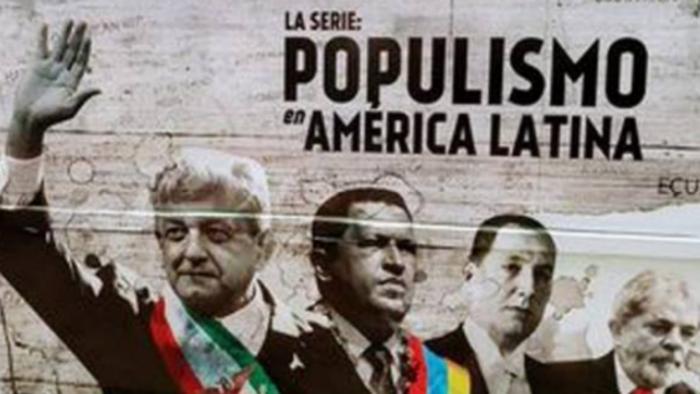 """Bloquean cuentas a productora de """"Populismo en América Latina"""""""