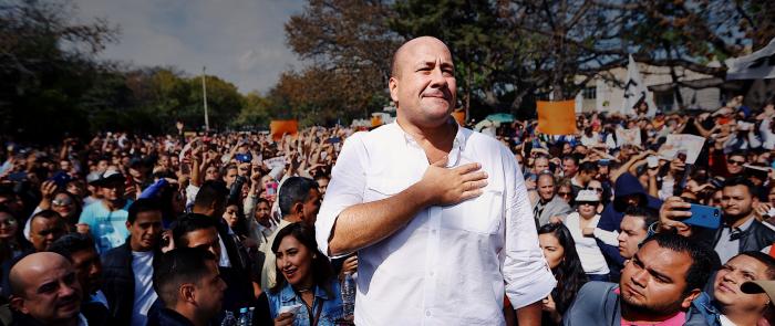 Cumple gobierno de Enrique Alfaro a Jalisco.
