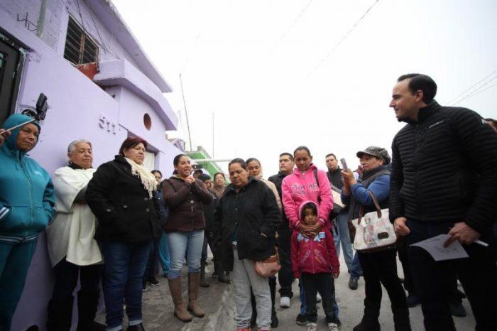 Supervisa Alcalde mejora de 3 mil 800 viviendas al Sur de Saltillo
