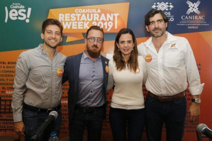 Saltillo se suma al Coahuila Restaurant Week 2019