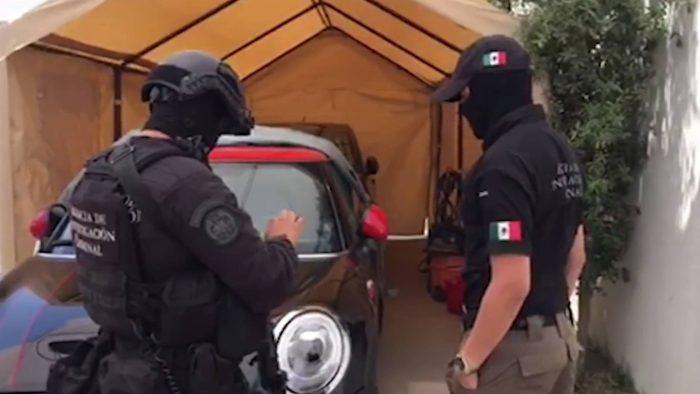 Desarticulada una banda de ciberladrones en México gracias a unos drones