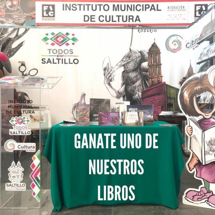 Presente el Gobierno Municipal de Saltillo en la FILC 2019