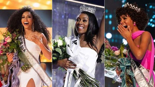 Por primera vez, Miss USA, Miss Teen USA y Miss America son mujeres afroamericanas