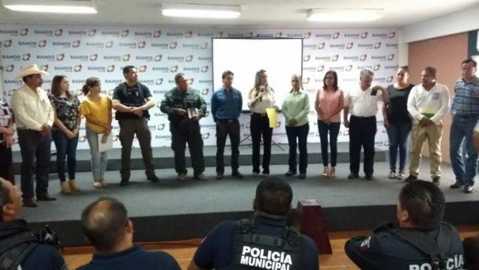 Capacita Policía Ambiental de Saltillo a su contraparte en Ramos Arizpe