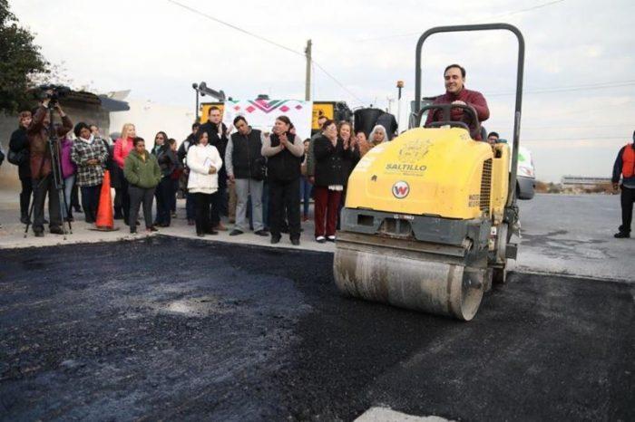 Más de 80 mil baches reparados en Saltillo